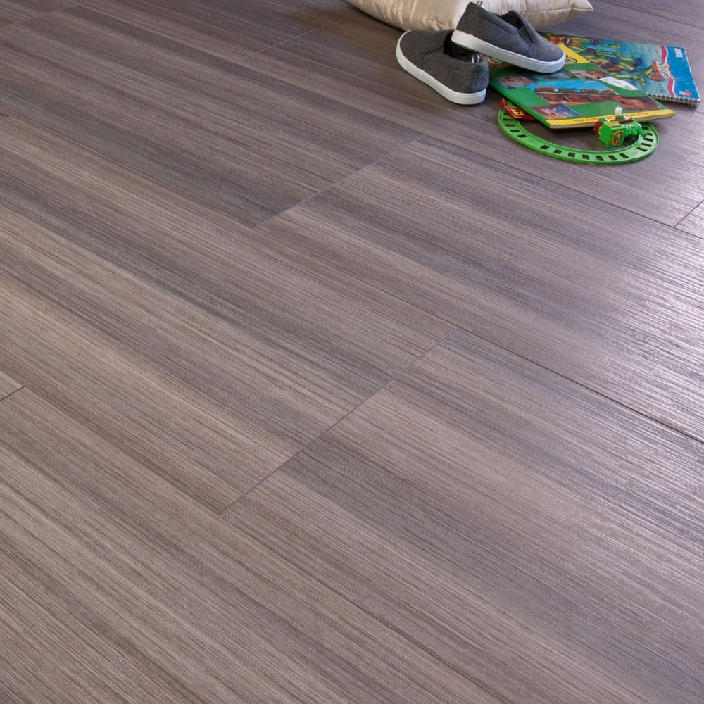 Northland tile ceramic wood grey beige 8mm v groove ac4 1 for Tile laminate flooring sale
