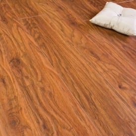Original Line Fire Oak Laminate Flooring 9mm V Groove AC4 1.9218m2