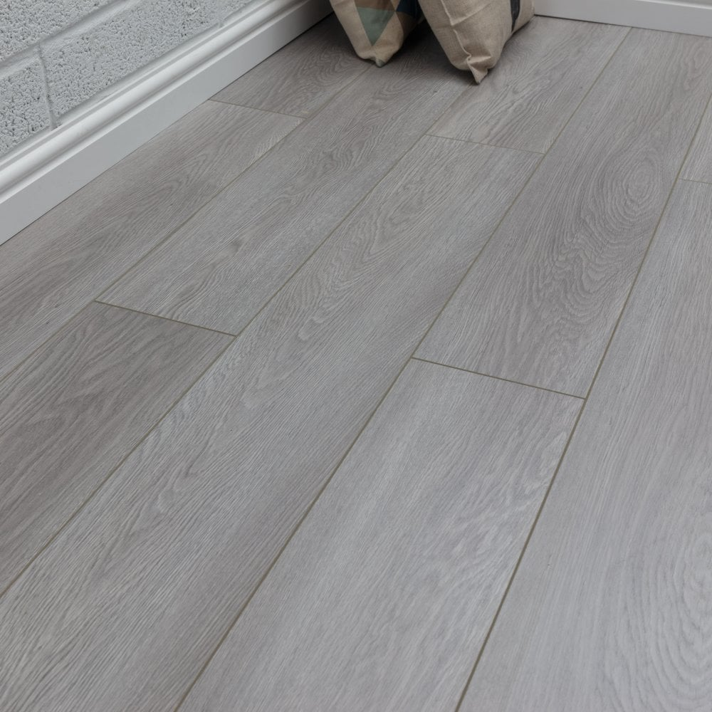 Pelmore Laminate Flooring Neptune Grey, Slate Colored Laminate Flooring