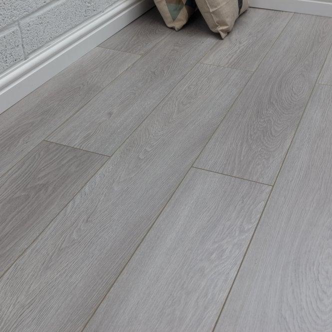 Pelmore - 8 mm laminate flooring - Neptune Grey