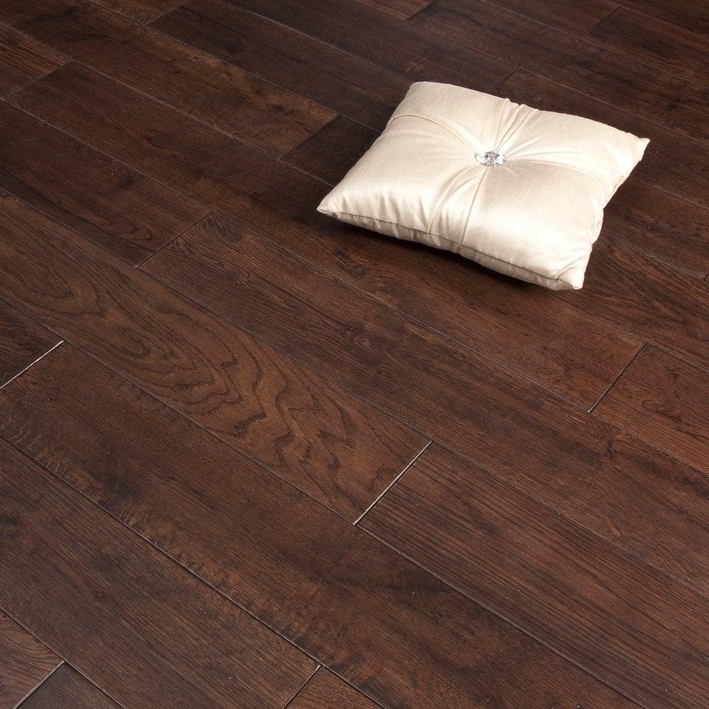 Platinum Series Solid Oak Uv Regal 120mm Wooden Flooring