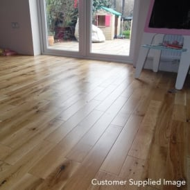 Platinum Series Solid Wood Flooring Oak 18mm x 90mm Lacquered