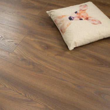 Plus Style - 12mm Laminate Flooring - Earth Brown Oak