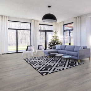 Plus Style - 12mm Laminate Flooring - Grey Oak