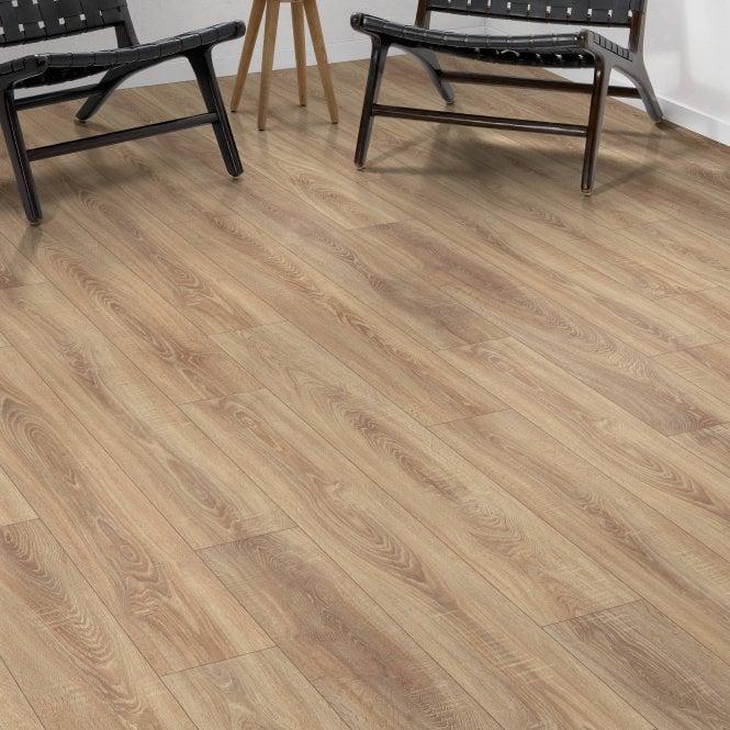 Premier Elite - 8mm Laminate Flooring - Light Oak