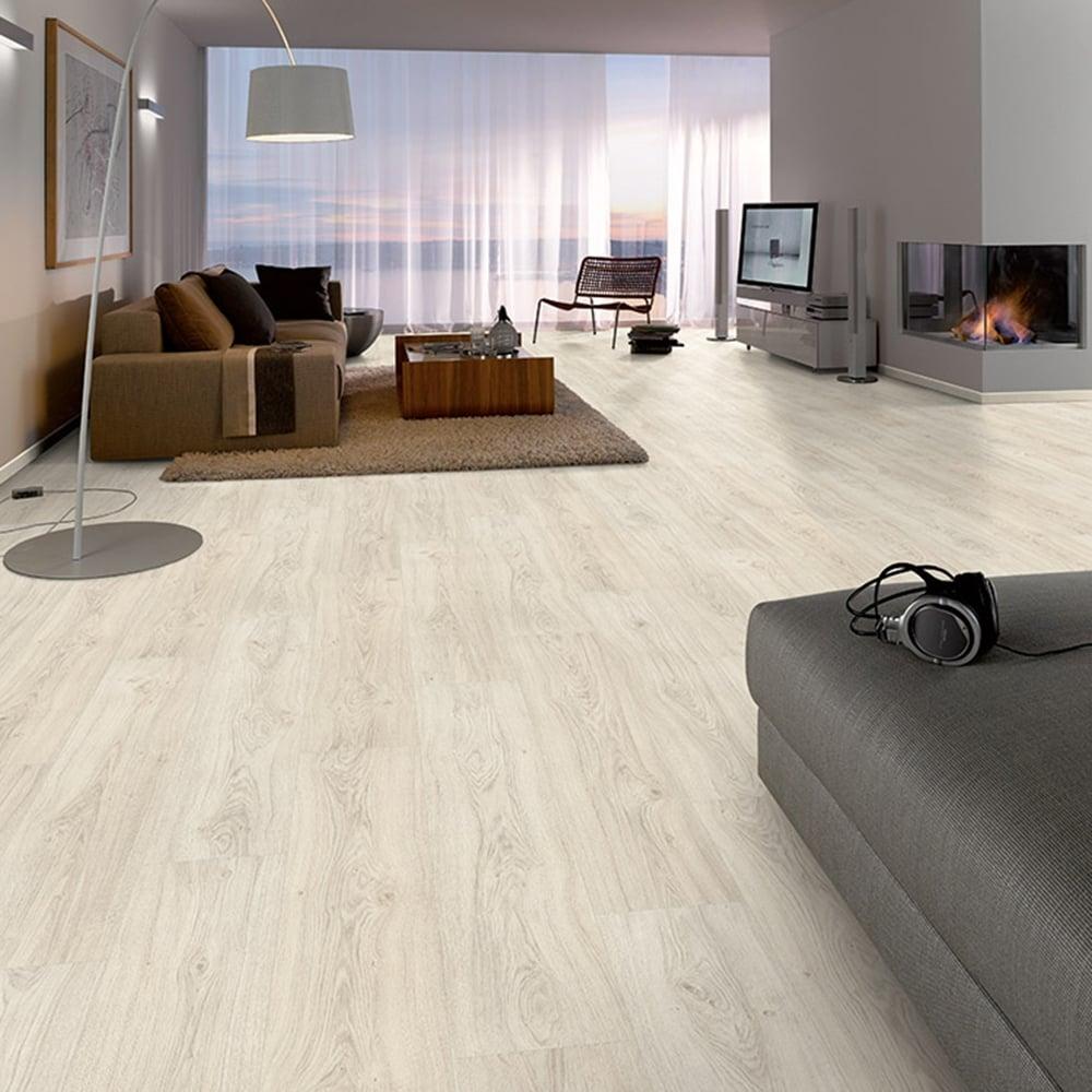 Premier Elite Eden Oak 8mm Laminate Flooring V-Groove AC4 1.99m2 ...