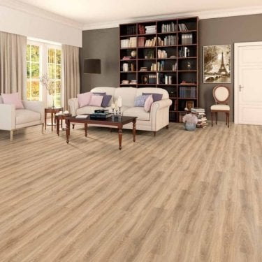 Premier Elite Light Oak 8mm Laminate Flooring V-Groove AC4 1.99m2
