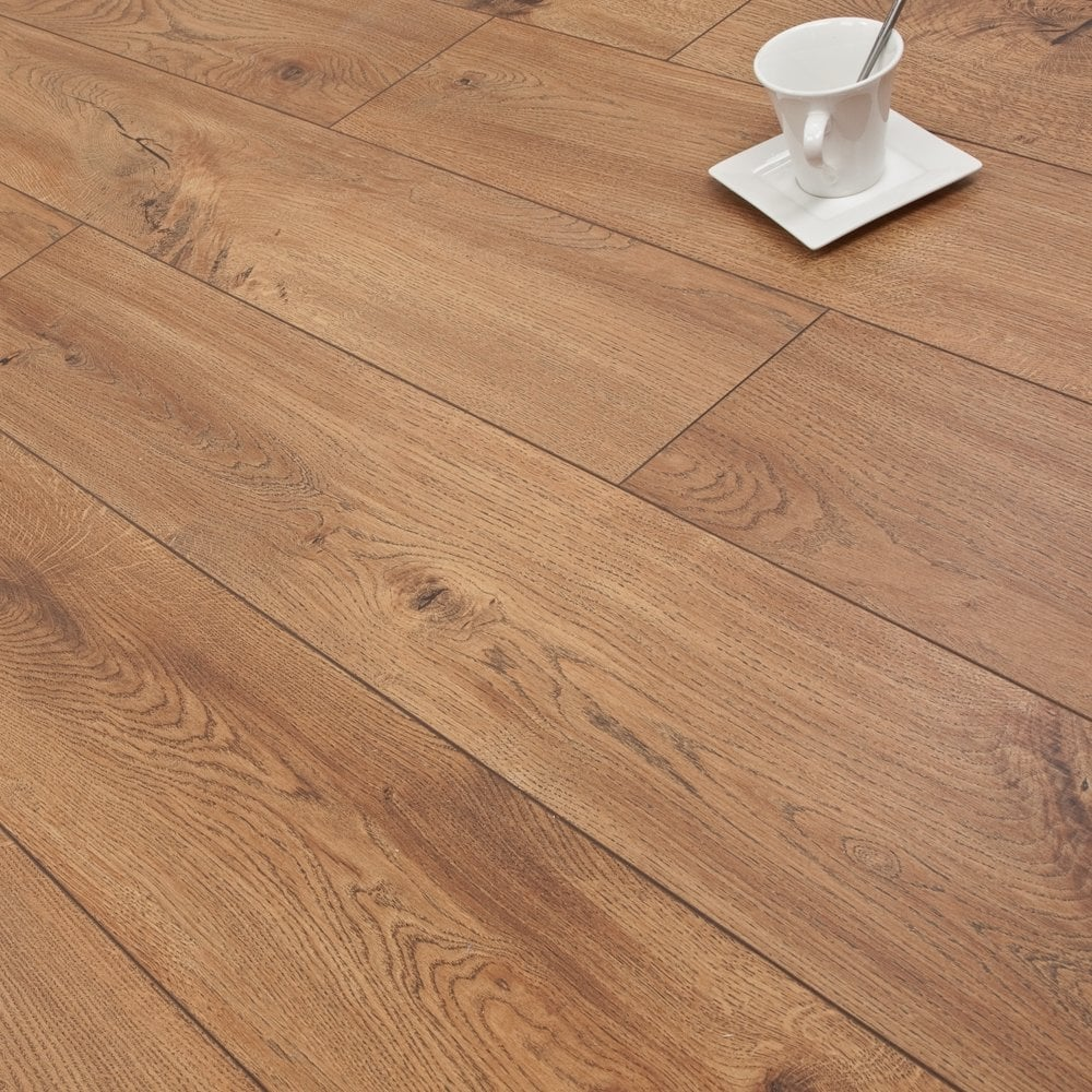 Golden Elite Hardwood Flooring Reviews: Mediterranean Oak 8mm Premier Elite Laminate Flooring