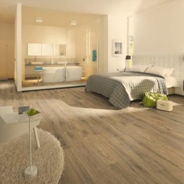 Premier Elite Medium French Oak 8mm Laminate Flooring V-Groove AC4 1.99m2