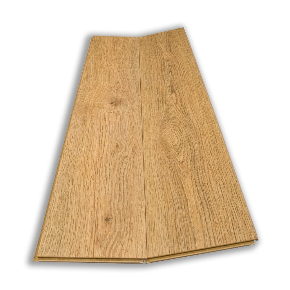 Premier Elite Natural Oak 8mm Laminate Flooring V Groove AC4 1.99m2