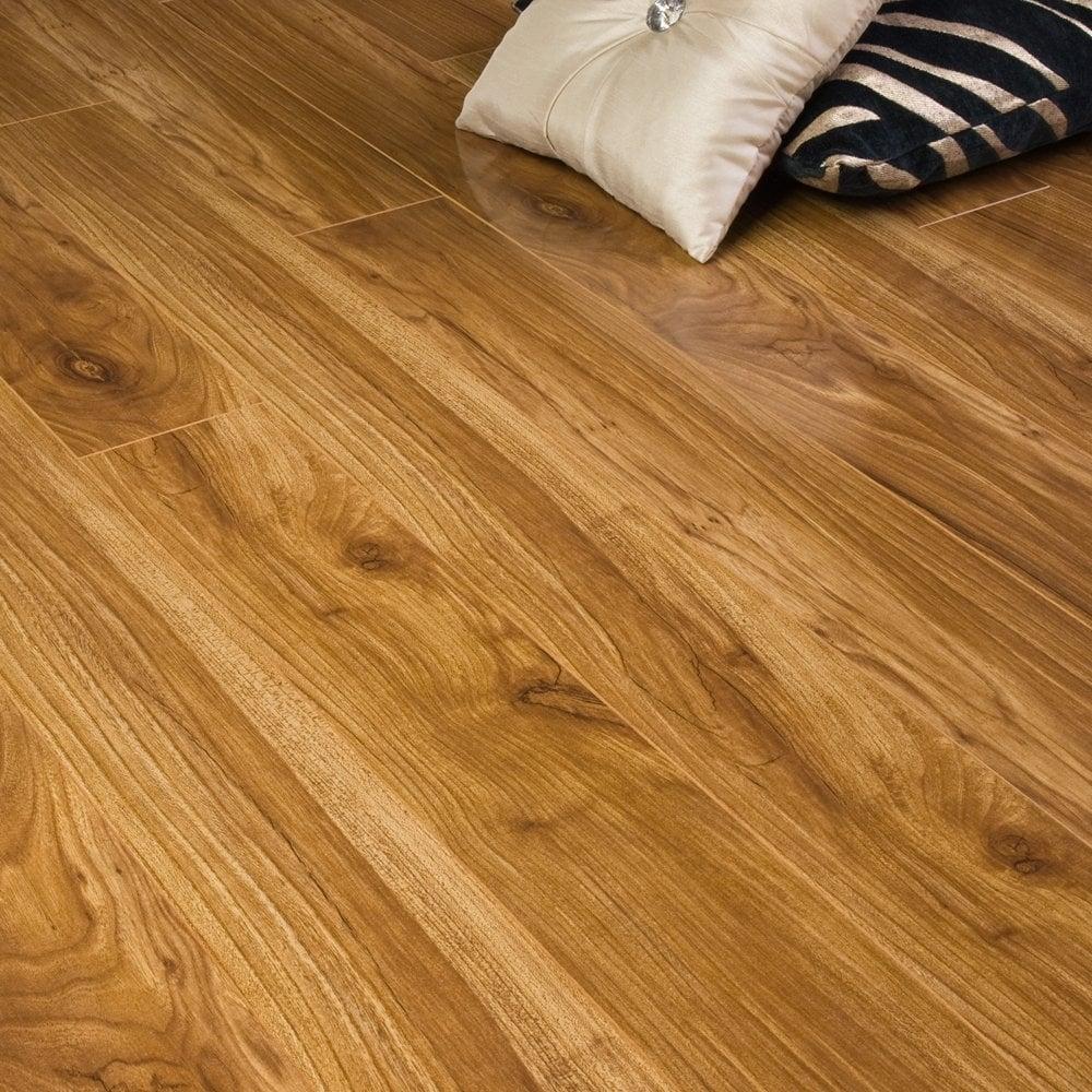 Premier Select 10mm High Gloss Laminate Flooring Auckland Walnut 1 882m2