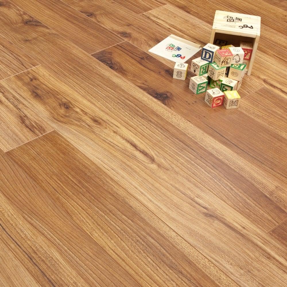 Sydney S Premier Kitchen: Colombian Walnut 10mm Premier Select Laminate Flooring