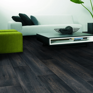 Premier Select - 8mm Laminate Flooring - Carbon Black