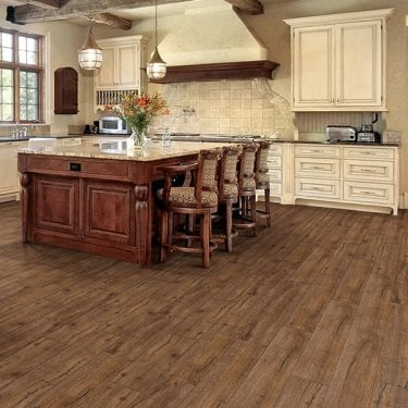 Premier Select - 8mm Laminate Flooring - Dark Oak