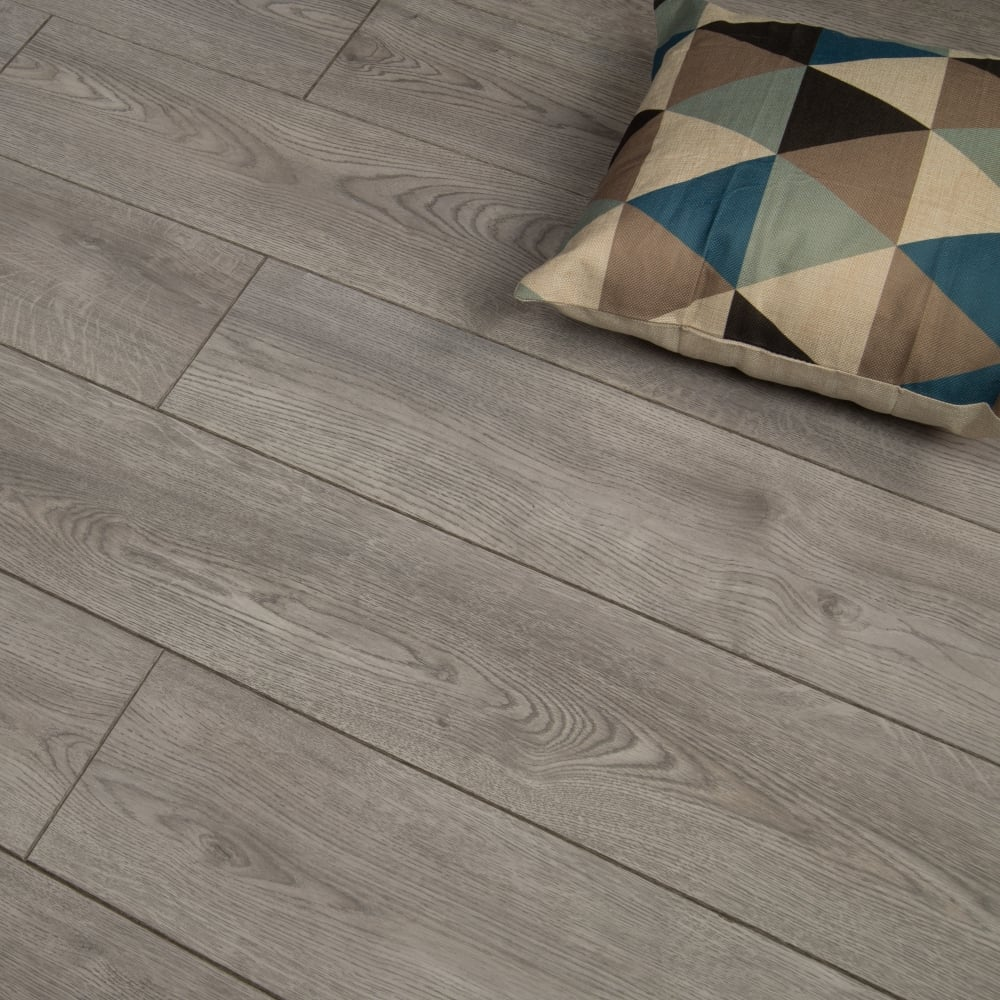 Premier Select Laminate Flooring Modern Grey Oak