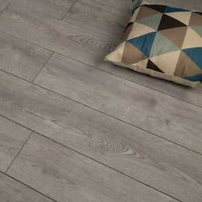 Premier Select - 8mm Laminate Flooring - Modern Grey Oak
