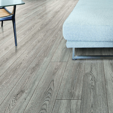 Premier Select - 8mm Laminate Flooring - Needle Grey