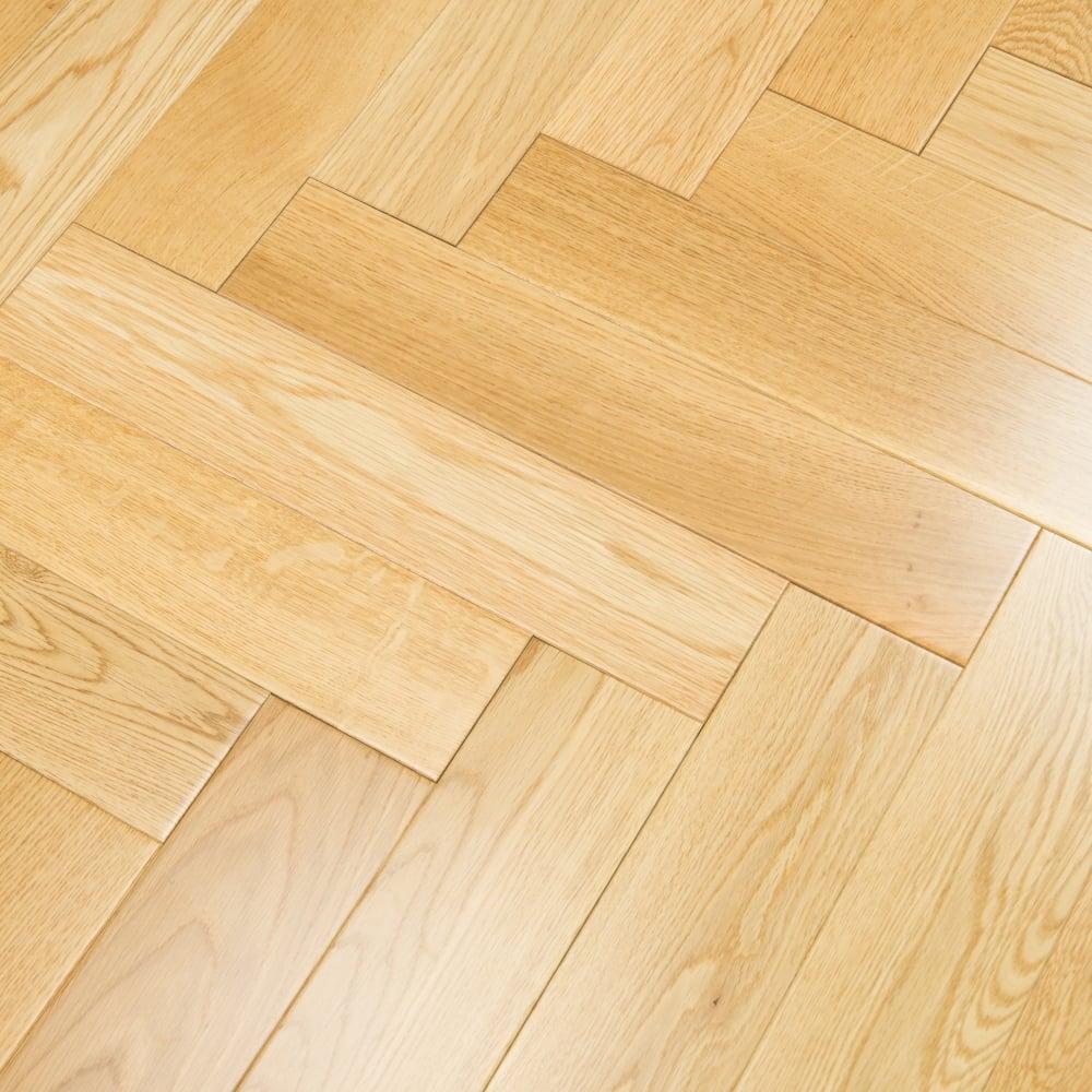 Princeton Engineered Herringbone Parquet Flooring Oak 185 X 90mm