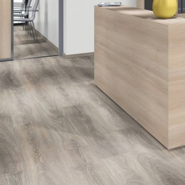 Pro-Fit - 12mm Laminate Flooring - Harbour Grey