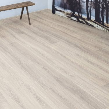 Pro-Fit - 12mm Laminate Flooring - Pale Oak
