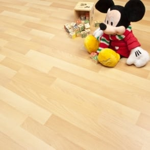 Urban white laminate flooring from discount for Balterio vanilla oak laminate flooring