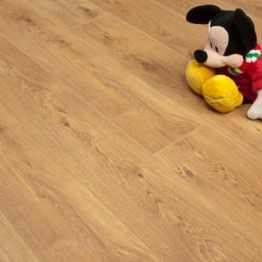Emperor golden oak laminate flooring 12mm x 166mm for Balterio legacy oak laminate flooring