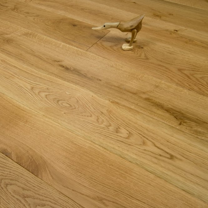 Purity - 20/4mm x 190mm Engineered Wood Flooring - Oak Brushed and Lacquered