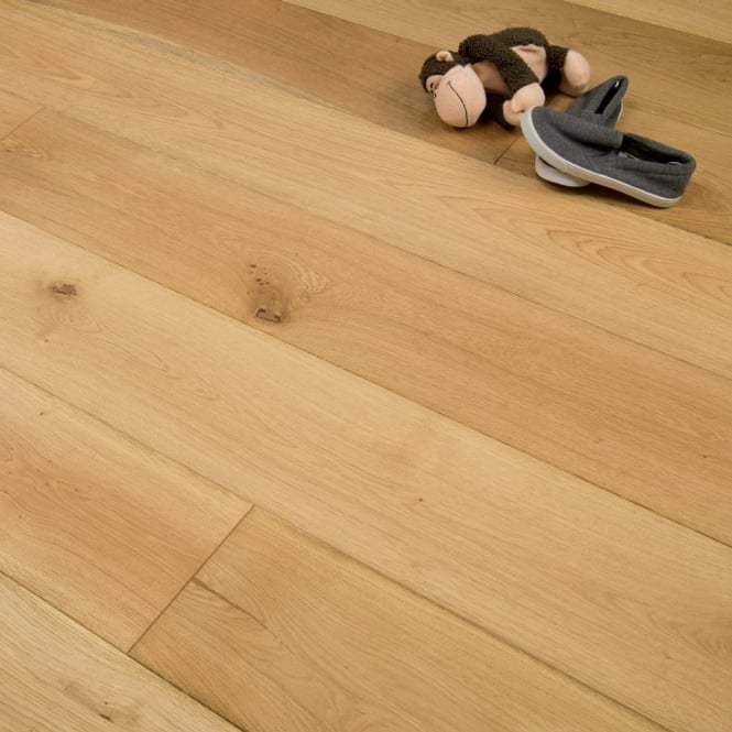 Purity - 20/4mm x 190mm Engineered Wood Flooring - Oak Brushed and Oiled - 1.805m2