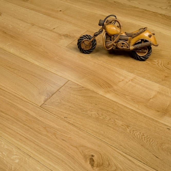Purity - 20/4mm x 190mm Engineered Wood Flooring - Oak Lacquered