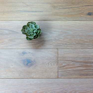 Purity - 20/4mm x 190mm Engineered Wood Flooring - Oak Smoked and White Oiled