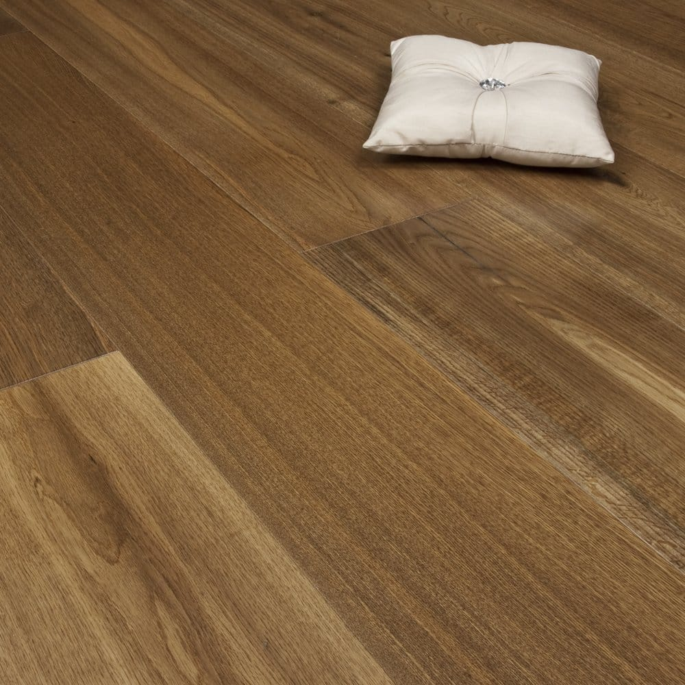 Redwood x wide oak natural lacquered engineered flooring for Engineered wood floor 6mm