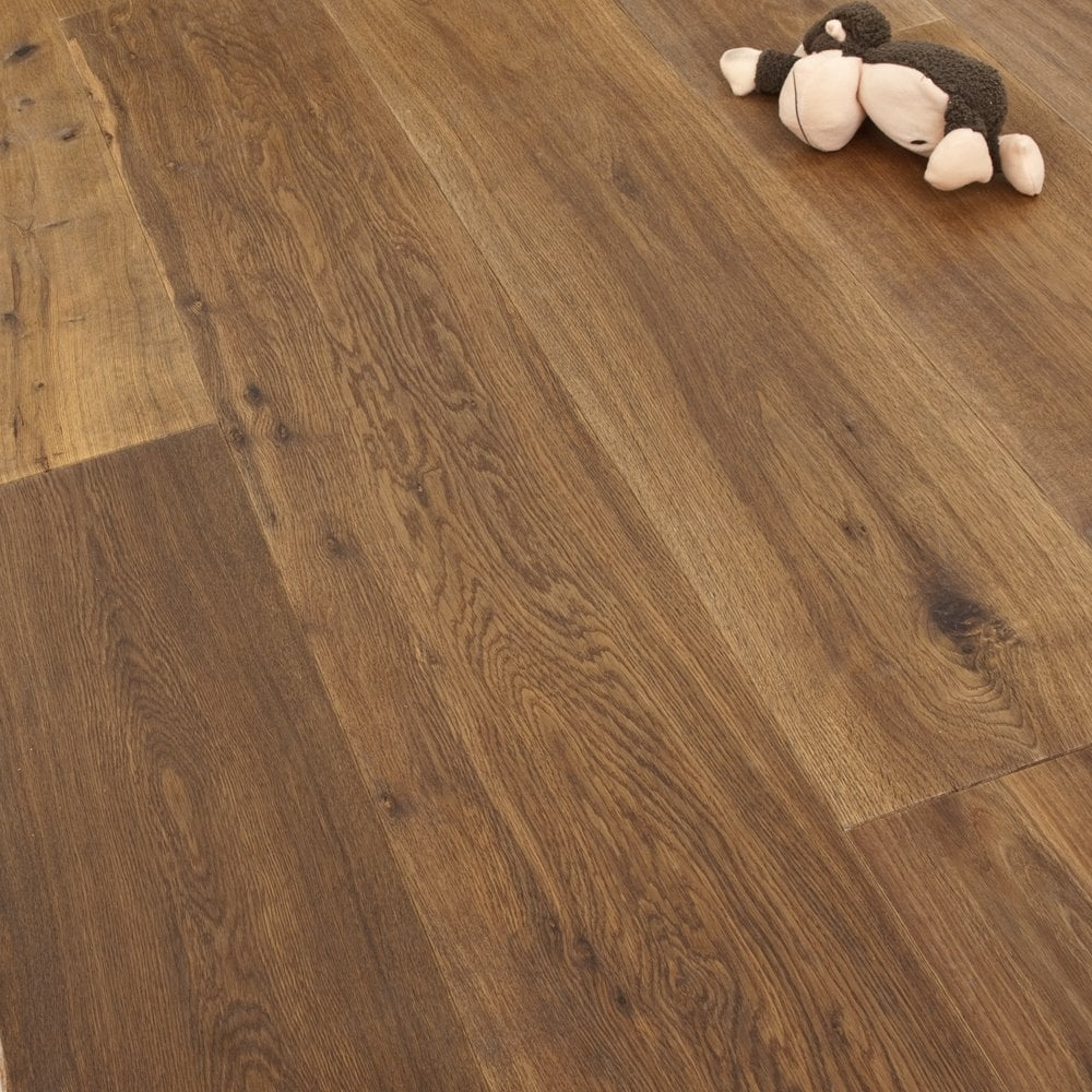 Redwood x wide oak natural smoked oiled engineered flooring for 6mm laminate flooring