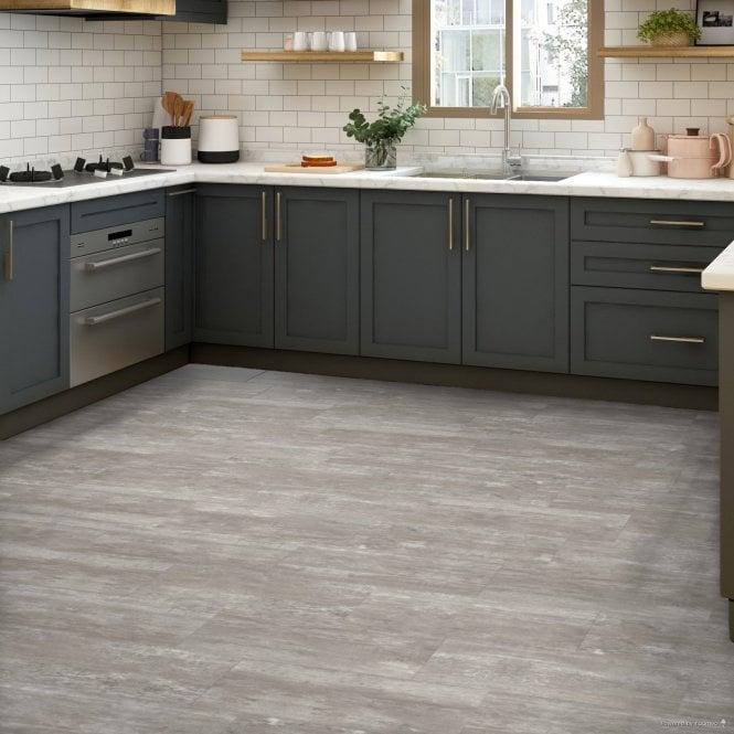 Rushmore - LVT Flooring - Grey Tile