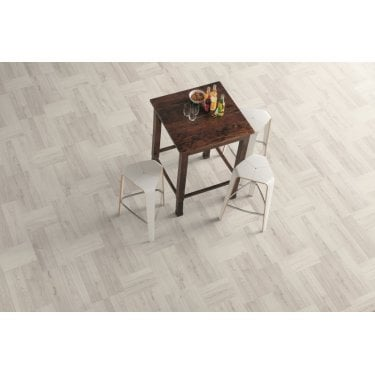 Signature - 8mm Parquet Laminate Flooring - Luxury Oak