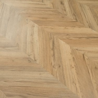 Signature Indulgence Oak Parquet Herringbone Laminate 8mm 2.53m2