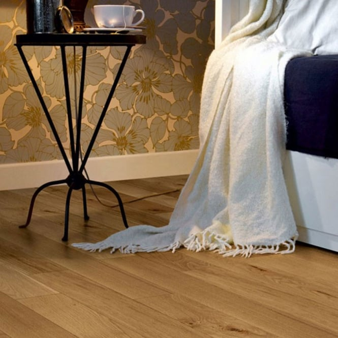 Silver Series Solid Wood Flooring Oak 18mm x 90mm Lacquered 1.08m2
