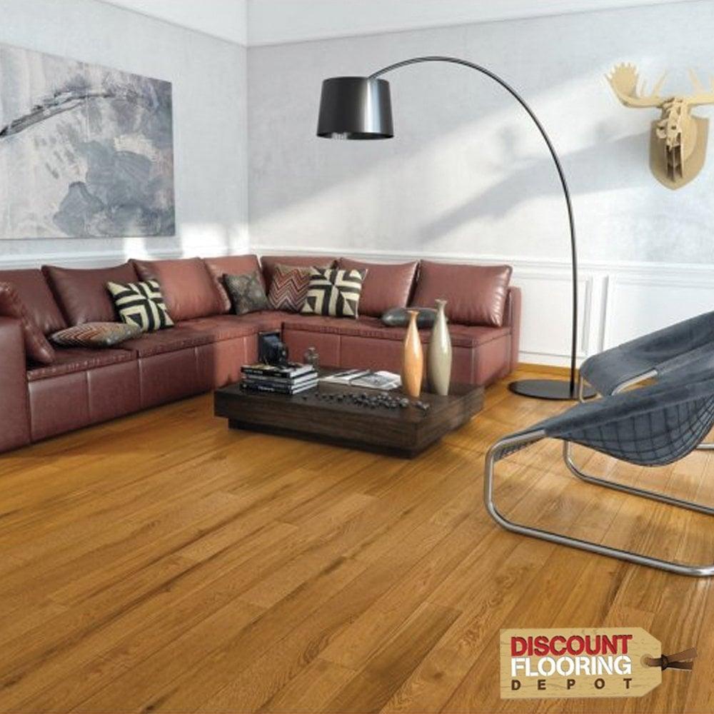smart choice click engineered flooring oak 14 x. Black Bedroom Furniture Sets. Home Design Ideas