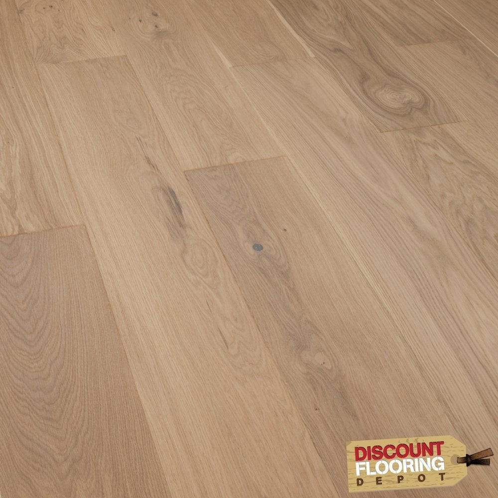 Smart choice click engineered oak flooring 14 x for Click flooring