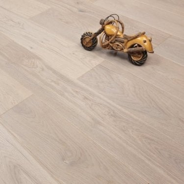 Smart Click - 14mm x 180mm Engineered Wooden Flooring - Oak Grey Almond Matt Lacquered