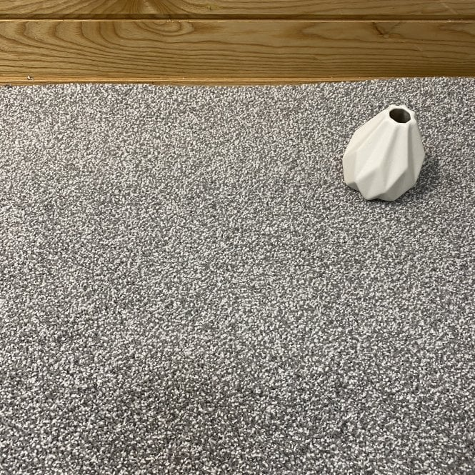 Soft Style 75 - Mid Grey Carpet - Medium Pile Height / Light Density