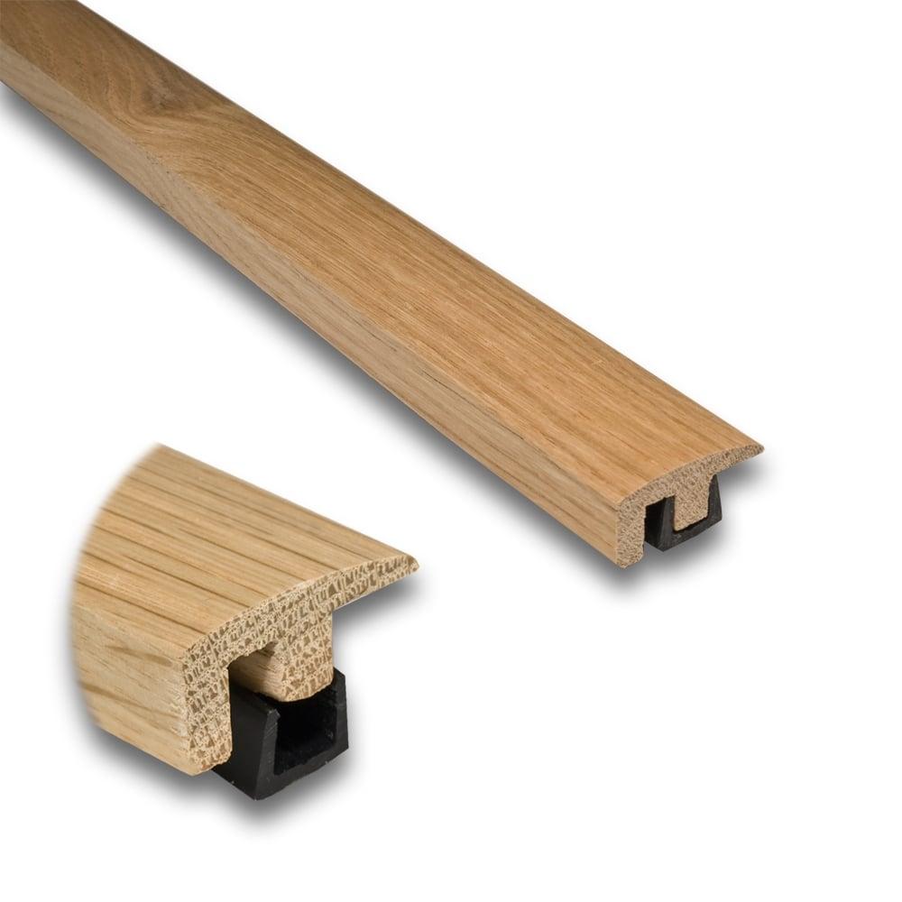 Solid oak end door profile flooring accessories for Floor profile