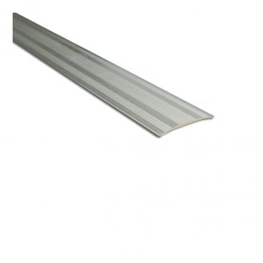 Stick Down Coverstrip Silver 0.9m