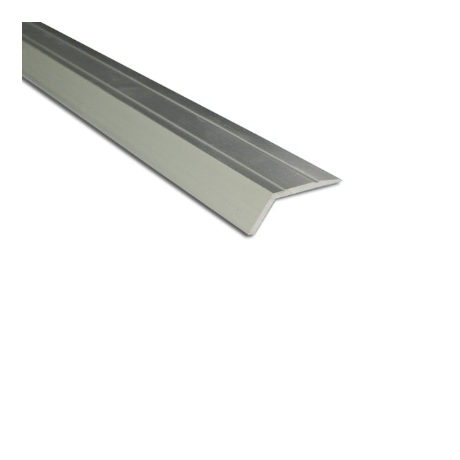 Stick Down Ramp Edge 8mm Silver 0.9m