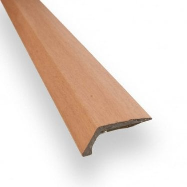 Stick Down Ramp Edge Trim 8mm Cherry Finish 0.9m