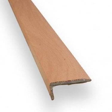 Stick Down Square Edge Trim 8mm Cherry Finish 0.9m