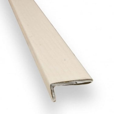 Stick Down Square Edge Trim 8mm Maple Finish 0.9m