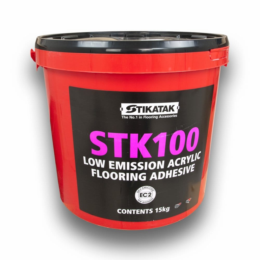 STK 100 Acrylic Adhesive 15kg for Vinyl Flooring from