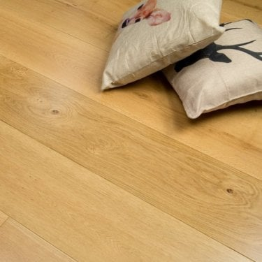Summit - 20/6mm x 240mm Engineered Oak Flooring - Lacquered