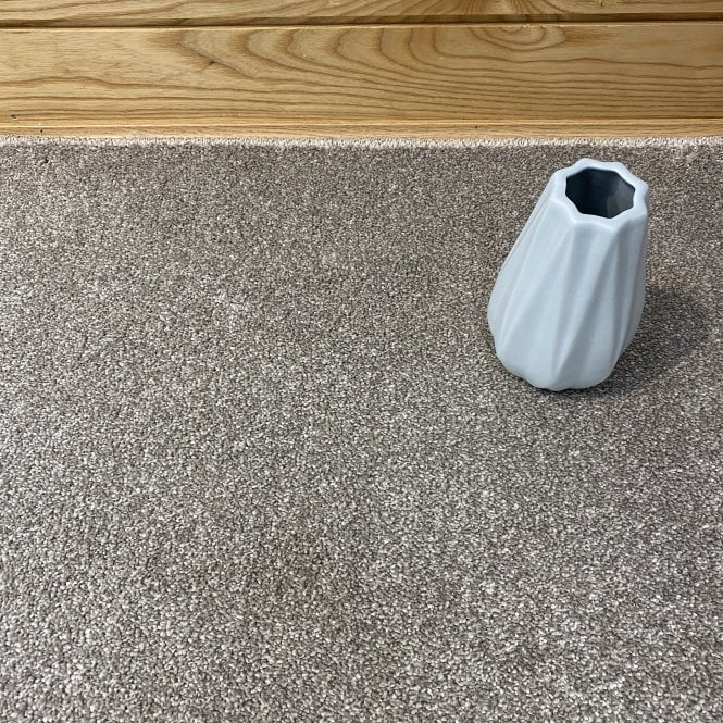 Super Saxony 430 - Beige Carpet - Long Pile Height / Heavy Density