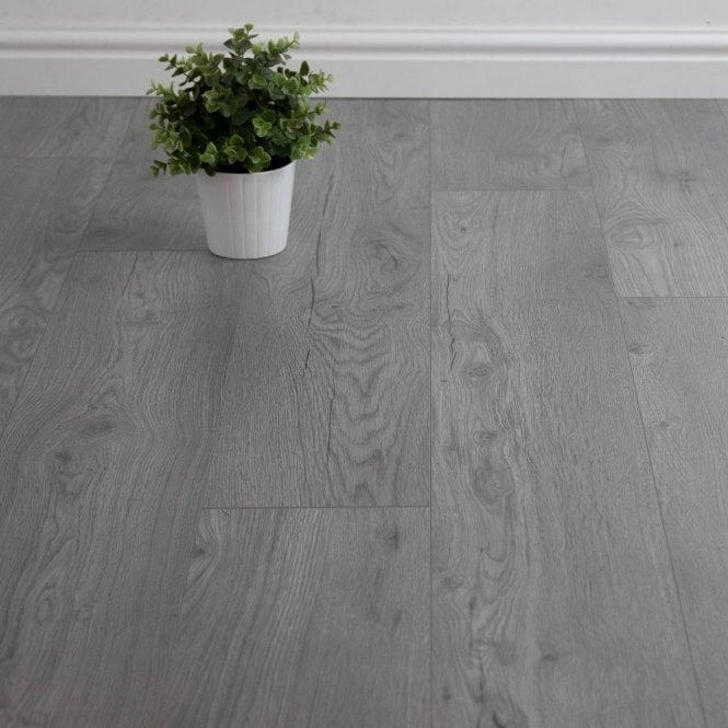 Superior - 7mm Laminate Flooring - Steel Grey